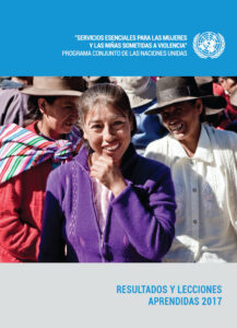 """Results 2017: Joint Program """"Essential Services for Women and Girls Subjected to Violence"""""""
