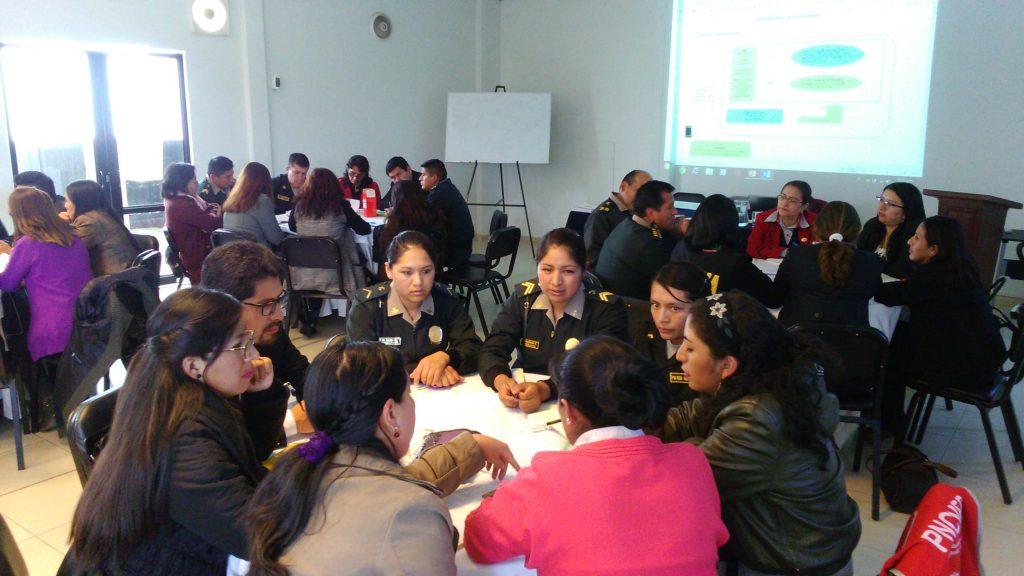 Curso formativo sobre procesamiento de casos de feminicidio (Huancayo 2018)