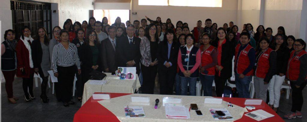 Inaguraciòn del Taller Regional sobre Protocolo CEM-ESS con representantes de MInisterio de Salud, Ministerio de la Mujer y Poblaciones Vulnerables, Gobierno Regional de Ayacucho (Ayacucho, 2019)