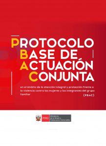 Protocolo Base de actuación Conjunta
